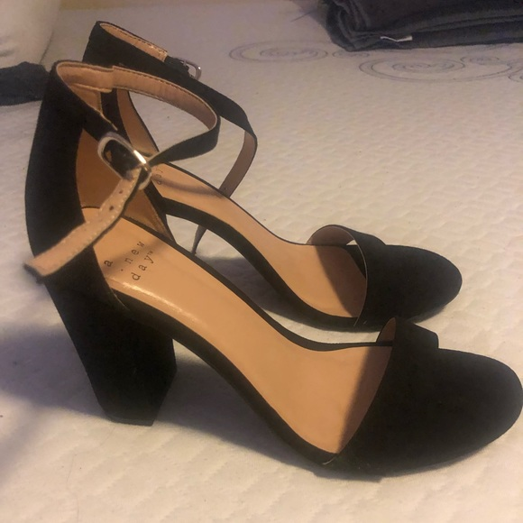 a new day Shoes | Black Heels Target 85